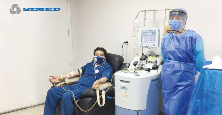 Plasma Convaleciente: Una alternativa para luchar contra el COVID-19